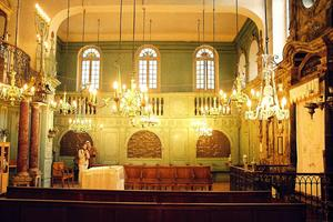 Carpentras Synagogue, interior