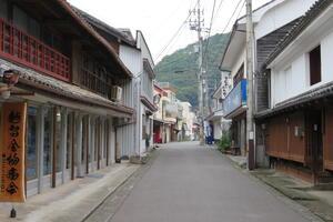 A street in Iwamatsu District, 2019.