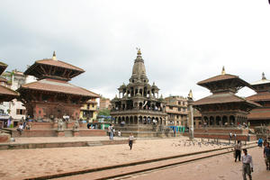 Char Narayan Temple before 2015 earthquake, 2008.