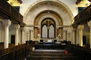 Shaare Tikva Synagogue.