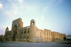 Abdulazizkhan, front facade