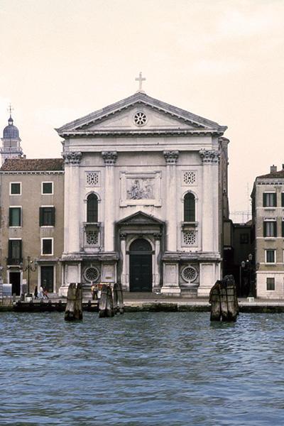 Exterior of Santa Maria della Visitazione in 1987