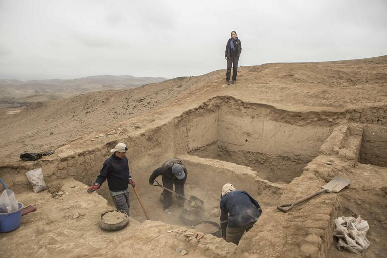 Cerro do Oro excavations, 2019