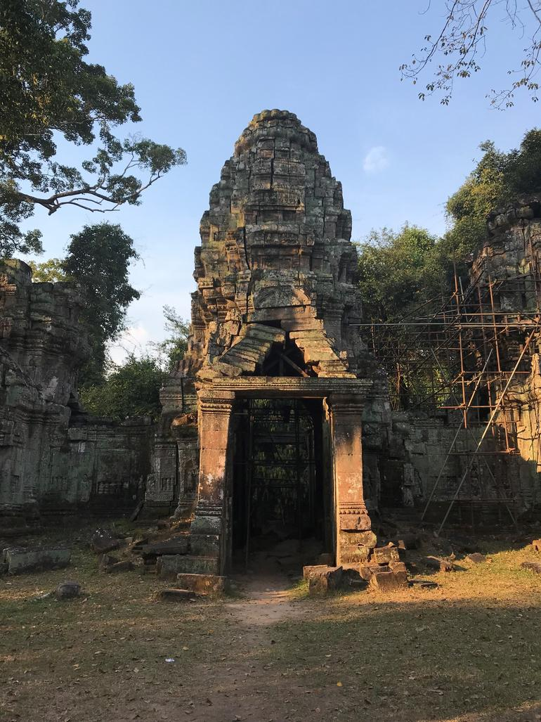 The secluded South Gopura within Preah Khan.