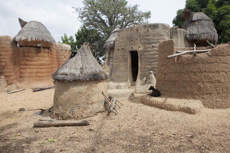 A Batammariba village in Togo, 2016. Photo credit: Damien Halleux Radermecker