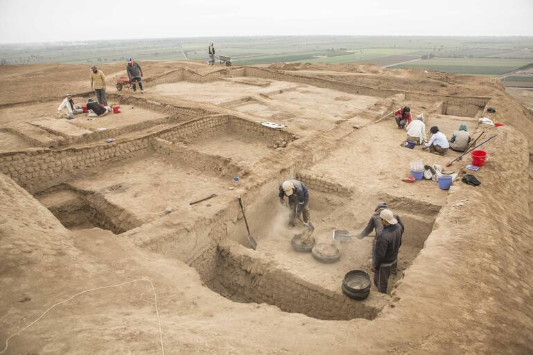 Excavations at Cerro de Oro, 2019