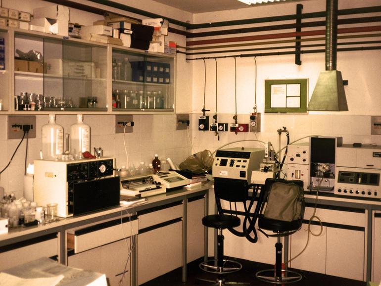The Misericordia Laboratory in 1982