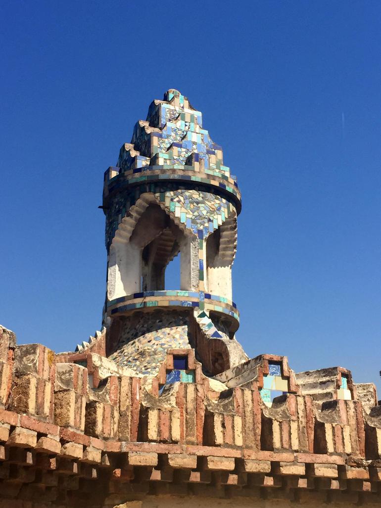 Gaudí Pavilions ventilation chimney