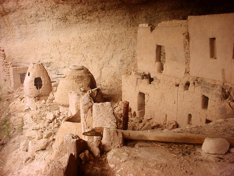 The cave dwellings exemplify the ingenuity of native peoples who harnessed a complicated environment to create sustainable communities.