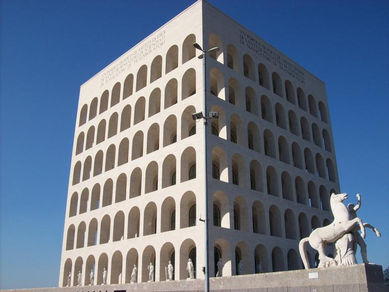 Palazzo della Civiltà Italiana, Rome, Italy