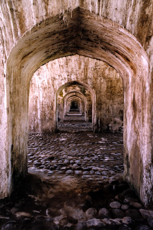 Interior of San Juan de Ulúa Fort in Veracruz, included on the World Monuments Watch in 1996. 2000, and 2002.