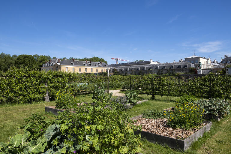 General view of Potager du Roi, 2019