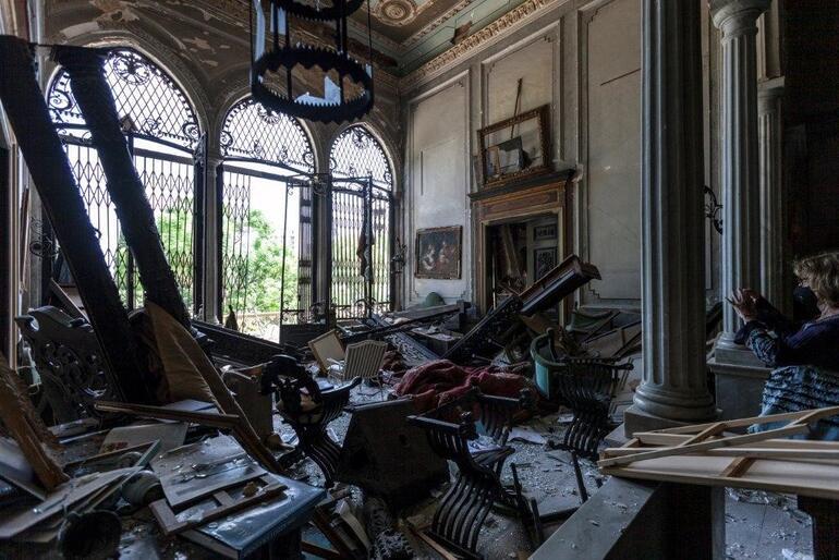 Sursock Palace, Beirut, Lebanon after the blast, 2020