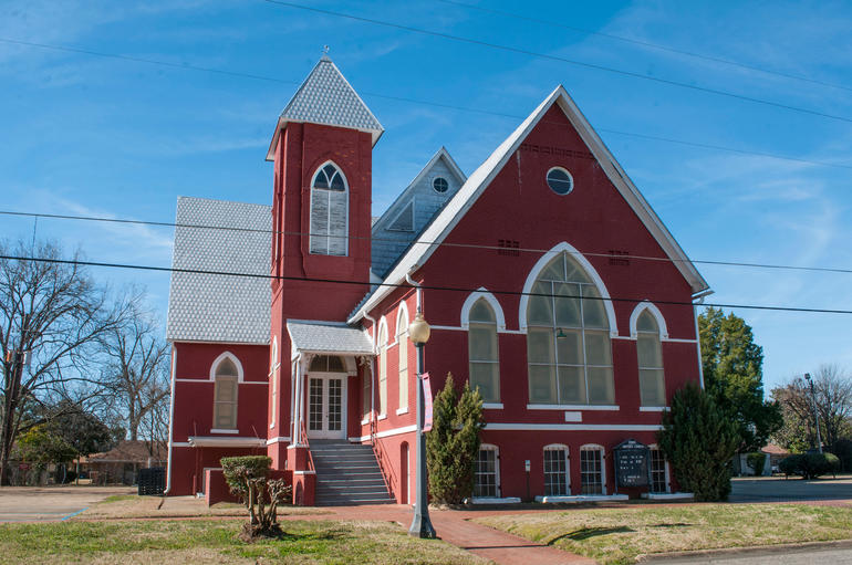 First Baptist Church in Selma, Alabama. Photo by Billy Brown.
