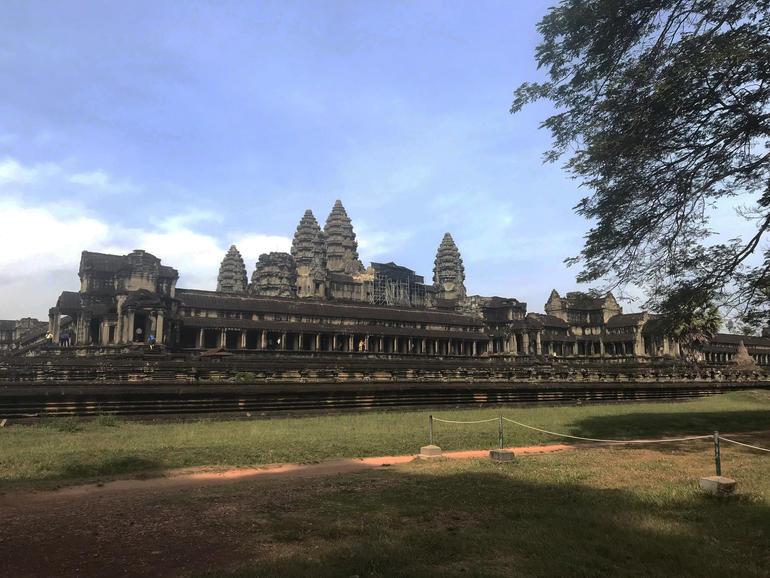 Churning of the Sea of Milk Gallery at Angkor Wat.