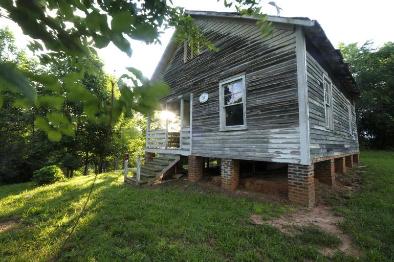 Nina Simone's childhood home in Tryon, North Carolina.
