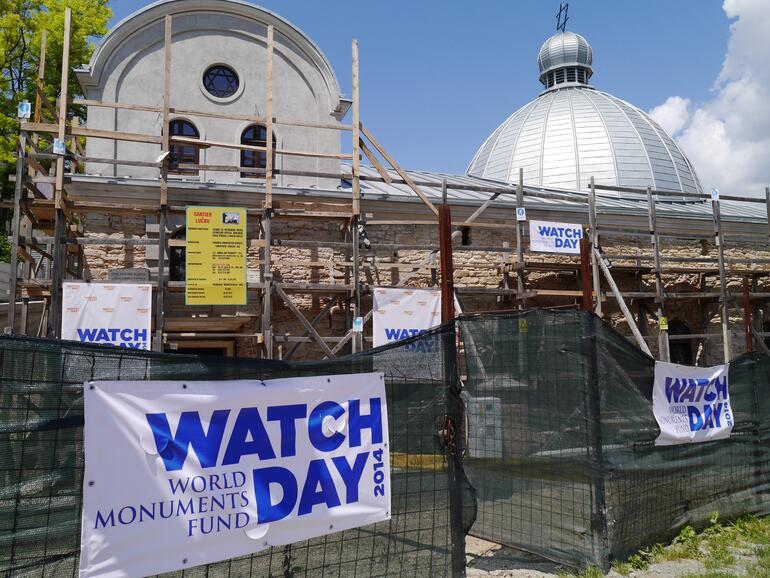 Great Synagogue of Iasi, Romania celebrates Watch Day, 2014
