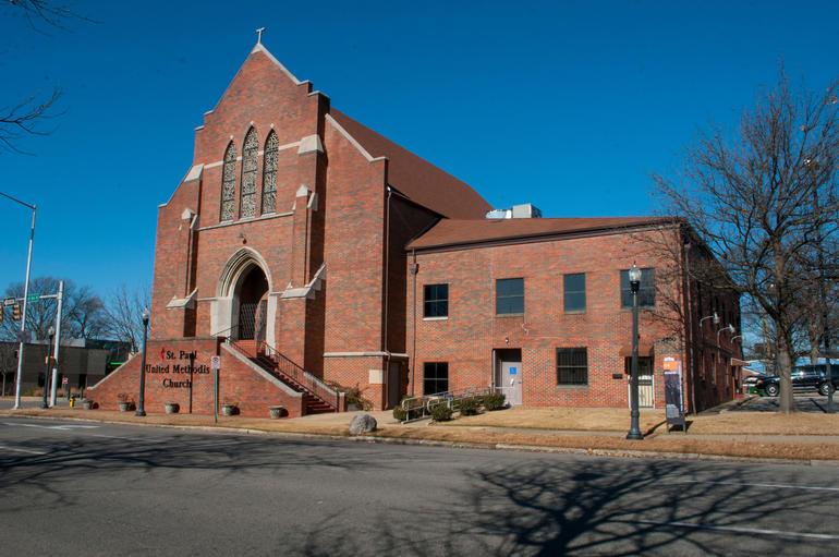 St. Paul United Methodist Church in Birmingham, Alabama. Photo by Billy Brown.