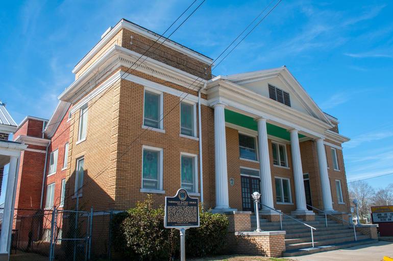 Tabernacle Baptist Church in Selma, Alabama. Photo by Billy Brown.