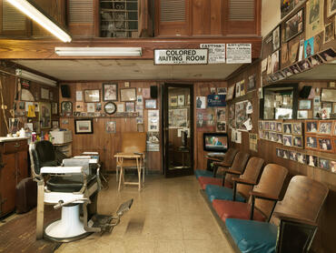 Malden Brothers Barber Shop, Montgomery by (c)William Abranowicz