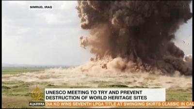 Lisa Ackerman on Al Jazeera America Discussing Babylon