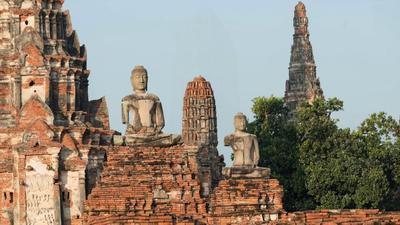 Laser Scanning at Wat Chaiwatthanaram