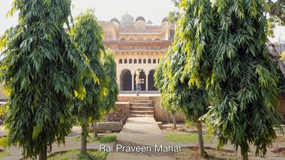 Sites in Orchha