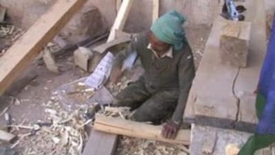 Conservation at Sumda Chun, India (World Monuments Fund)