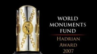 World Monuments Fund Hadrian Award 2007
