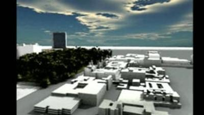Mexico City Historic Center: 3D Virtual Tour, Alameda Park