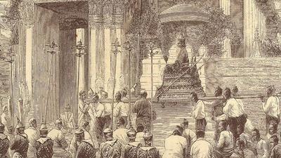 Conservation at Wat Chaiwatthanaram