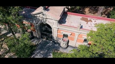 Chapultepec Park: Restoration of the 19th-century gatehouse building