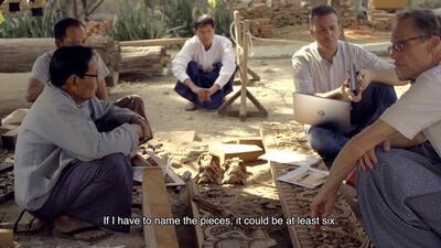 Burmese Traditional Woodcarving