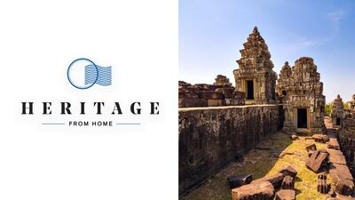 Journey to Angkor Archaeological Park in Cambodia