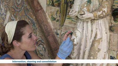 Conservation of the Niculoso Pisano Portal