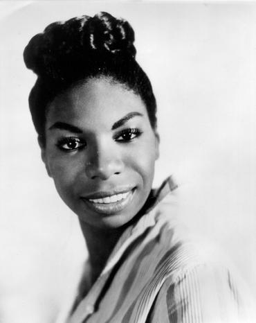 Nina Simone, circa 1960 (photo courtesy Nina Simone Project)